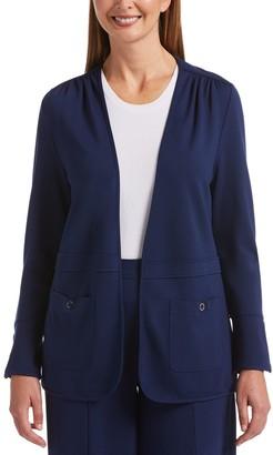 Rafaella Women's Effortless Essential Open-Front Cardigan