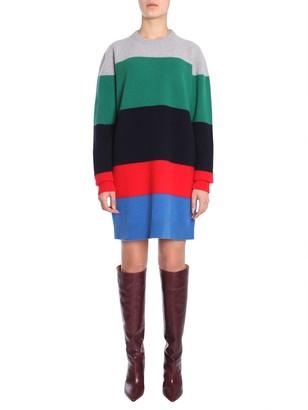 DSQUARED2 maxi striped dress