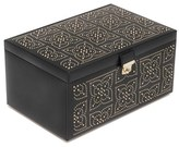 Wolf 'Marrakesh' Jewelry Box - Black