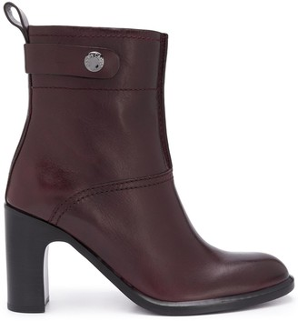 See by Chloe Almond Toe Ankle Boots