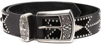 Etro Stud Detail Belt
