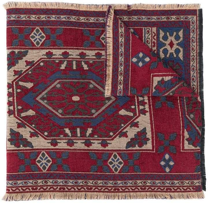 Etro carpet pattern scarf