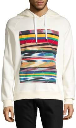 Missoni Long-Sleeve Abstract Print Hoodie
