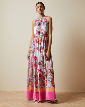 Ted Baker LANIAH Samba high neck maxi dress