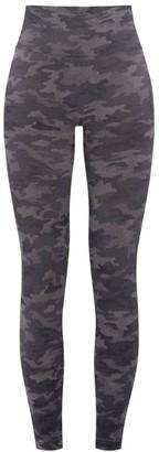 Spanx Camo-Print High-Rise Leggings