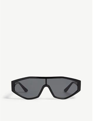 Vogue Gigi Hadid Highline irregular-frame acetate sunglasses