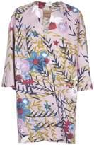 Semi-Couture Erika Cavallini Floral Print Coat