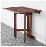 Ikea Wall Mounted Drop Leaf Portable Outdoor / Indoor Table