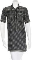 Etoile Isabel Marant Printed Short Sleeve Tunic