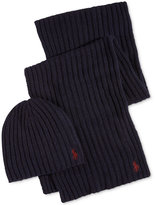 Polo Ralph Lauren Men's Hat & Scarf Gift Set