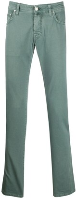 Jacob Cohen Slim-Fit Relaxed Chinos