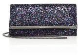 Jimmy Choo Milla Coarse Glitter Chain Wallet