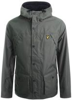 Lyle & Scott Full Zip Fleece Lined Jacket Green