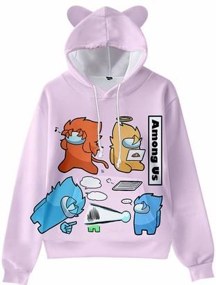 Forlcool Among Us Hot Game Printing Kids Sweatshirts