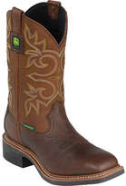 "John Deere Men's Boots 11"" Waterproof Composite Toe Pull On 4532 Boots"