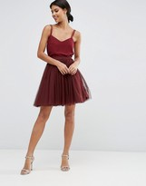 Asos Tulle Mini Prom Skirt with Multi Layers