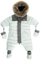 Tartine et Chocolat Two-Tone Fur-Lined Snowsuit