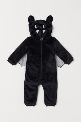 H&M Velour Costume - Black