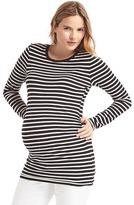 Gap Maternity Pure Body stripe crew tee