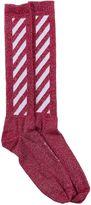 Off-White Off White Diag Socks