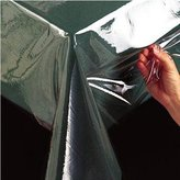 Benson Mills Clear Plastic Tablecloth, 54-Inch by 54 inch