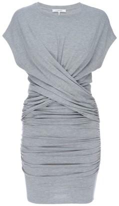 Frame Shirred Muscle Tee Dress