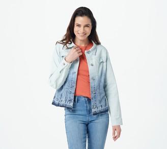 Laurie Felt Classic Denim Ombre Jacket