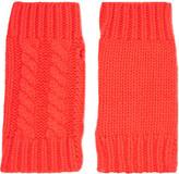 Autumn Cashmere Cable-knit cashmere hand warmers
