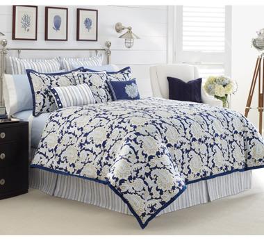 Nautica Palmetto Bay Comforter Set, 100% Cotton