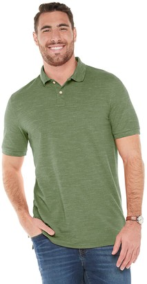 Sonoma Goods For Life Big & Tall Classic-Fit Pique Polo