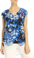 August Silk Floral Hi-Low Tunic