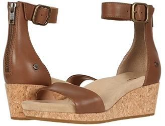 UGG Zoe II (Chestnut) Women's Sandals