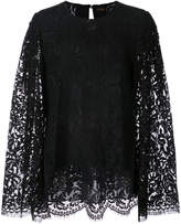 ADAM by Adam Lippes relaxe fit lace blouse