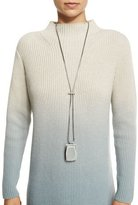 Lafayette 148 New York Long Adjustable Drop Necklace, Storm