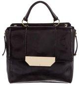 Halston Leather Satchel