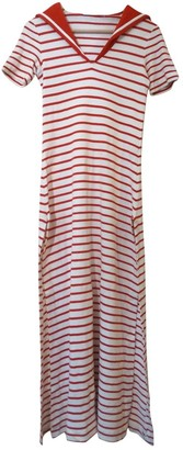Ted Lapidus Red Cotton Dress for Women