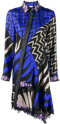 Emilio Pucci x Koche Lupa print shirt dress
