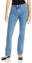 Lee Women's Petite Classic-Fit Monroe Straight-Leg Jean