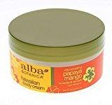 Alba Botanica Hawaiian Body Cream, Rejuvenating Papaya Mango 6.5 oz (Pack of 10)