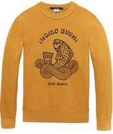 Scotch & Soda Printed Sweatshirt