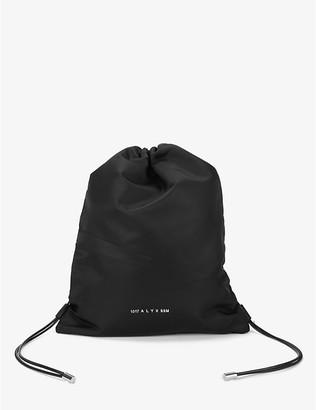 Alyx Branded shell drawstring bag