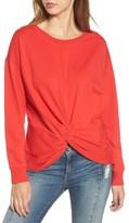 Socialite Women's Twist Front Pullover