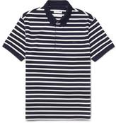 Lacoste Slim-Fit Striped Cotton-Piqué Polo Shirt