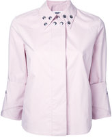 MM6 MAISON MARGIELA studded details shirt - women - Cotton - 38