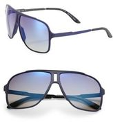 Carrera 61MM Rectangle Sunglasses