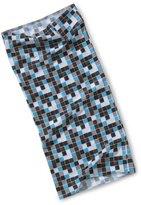 Lassig TWISTER Multifunctional Scarf CUBE BLUE - -