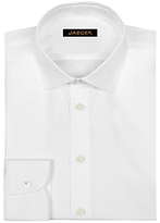 Jaeger Stretch Cotton Poplin Extra Slim Shirt, White