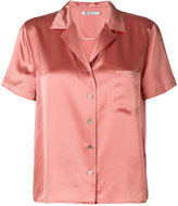 Alexander Wang short-sleeved shirt - women - Silk - 4