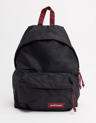 Eastpak backpack in black with red detailing