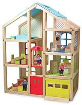 Melissa & Doug Wooden Hi Rise Dollhouse.